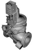 Клапан типа ПКН (В) — 50, 100, 200 с электромагнитом